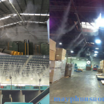 hệ thống phun sương nhà xưởng