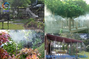 Máy bơm phun sương tưới cây giải pháp mới cho khu vườn của bạn