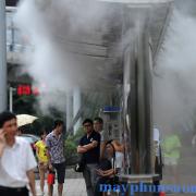 hệ thống phun sương làm mát cửa hàng