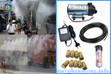 Mua máy phun sương ở đâu giá vừa rẻ vừa chất lượng?