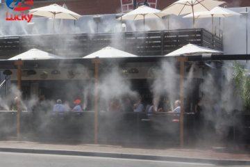 Hệ thống phun sương nhà hàng – thiết bị làm mát hiệu quả nhất