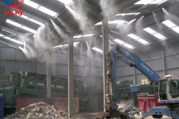 Hệ thống phun sương công nghiệp nâng cao năng suất lao động
