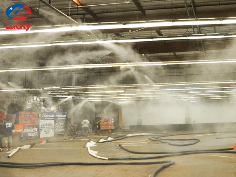 máy phun sương công nghiệp dập bụi
