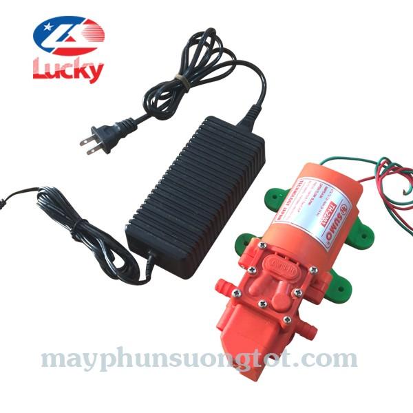 máy bơm phun sương áp lực mini 12v-5