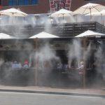 3 hệ thống máy phun sương quán cafe làm mát giá rẻ cho mọi diện tích!