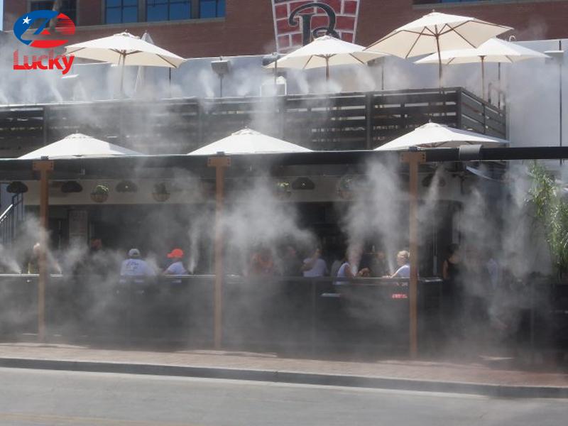 béc phun sương quán cafe 2