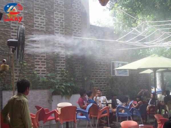 máy phun sương có tốn điện không