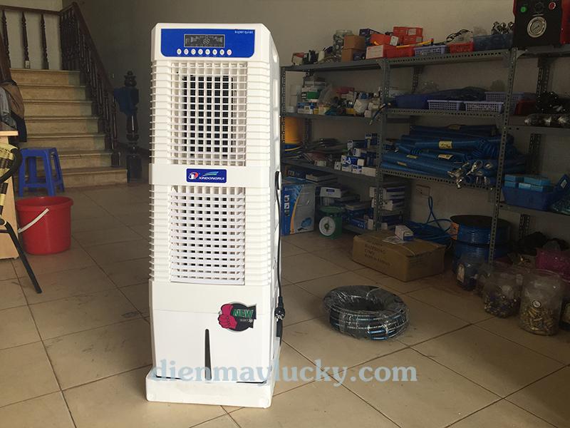 Quạt điều hòa không khí Fujitsu 30 lít DR - 25lọc sạch không khí mang đến không khí có lợi cho sức khỏe chúng ta.