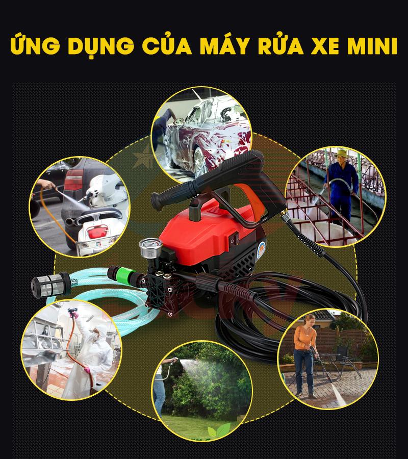 máy rửa xe mini