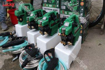 Thông tin quan trọng về máy bơm rửa xe mini áp lực cao